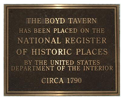 The Boyd Tavern